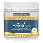 Ethical Nutrients MEGAZORB Mega Magnesium Powder Citrus 200g