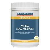 Ethical Nutrients MEGAZORB Mega Magnesium Powder Citrus 450g