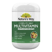 Natures Way Complete Daily Multivitamin with Antioxidants 200 Tablets