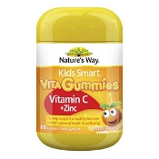 Natures Way Kids Smart Vita Gummies Vitamin C & Zinc 60 Pack