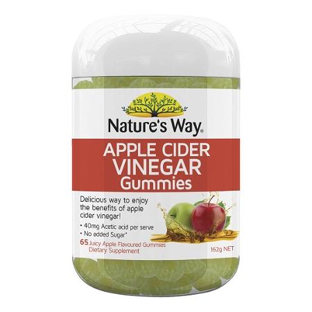 Natures Way Apple Cider Vinegar 65 Gummies