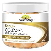 Natures Way Beauty Collagen Mature Skin Gummies 40 Pack