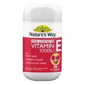 Natures Way High Strength Vitamin E 1000iu 50 Capsules