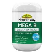 Natures Way Mega B Executive Stress 200 Tablets