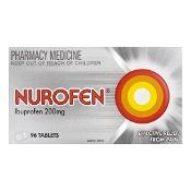 Nurofen Ibuprofen 200mg Pain Relief 96 Tablets