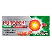 Nurofen Zavance Fast Pain Relief 20 Liquid Capsules