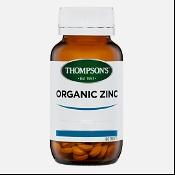 Thompsons Organic Zinc 180 Tablets