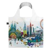 Loqi Shopping Bag World Skyline