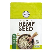 Essential Hemp Organic Hulled Hemp Seeds 250g