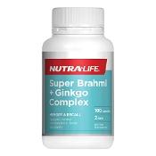 Nutra-Life Super Brahmi & Ginkgo Complex 100 Capsules
