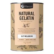 Nutra Organics Natural Gelatin Gut Wellbeing Powder Unflavoured 250g