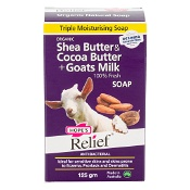 Hopes Relief Soap Shea & Cocoa Butter + Goats Milk 125g