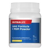 Nutra-Life Joint Formula + MSM Lemon Powder 1kg
