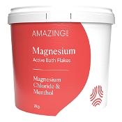 Amazing Oils Magnesium Active Bath Flakes 2kg