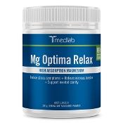 Medlab Mg Optima Relax Lemon Lime Powder 300g