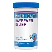 Inner Health Hayfever Relief Fridge Free 40 Capsules