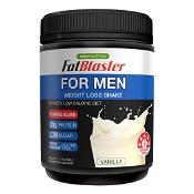 Naturopathica Fatblaster for Men Weight Loss Shake Vanilla 385g