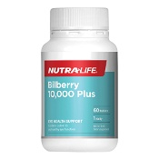 Nutra-Life Bilberry 10,000 Plus 60 Tablets