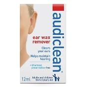 Audiclean Ear Wax Remover 12ml