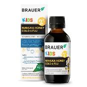 Brauer Kids Manuka Honey Cold & Flu 100ml