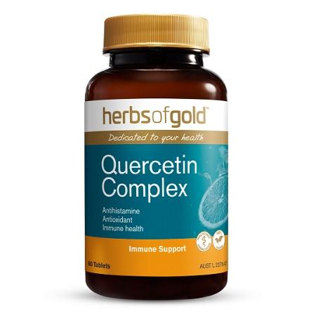 Herbs of Gold Quercetin Complex 60 Tablets