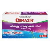 Demazin Allergy + Hayfever 30 Tablets