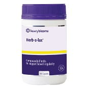 Henry Blooms Herb-a-Lax 200 Capsules