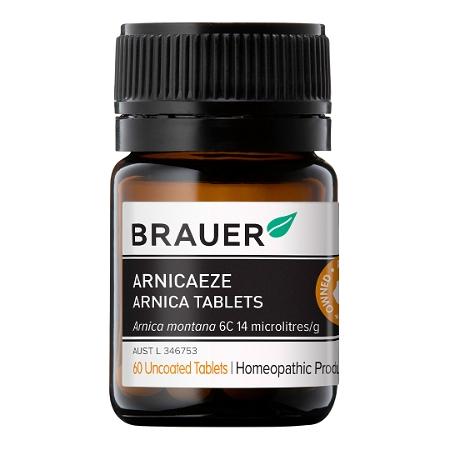 Brauer Arnicaeze Arnica 60 Tablets