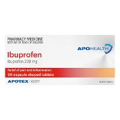APOHEALTH Ibuprofen 200mg Pain Relief 96 Tablets