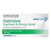 APOHEALTH Cetirizine Hayfever & Allergy Relief 70 Tablets