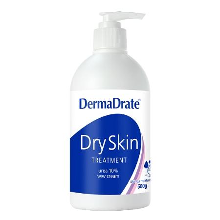 Dermadrate Dry Skin Treatment Cream Fragrance Free Pump 500g