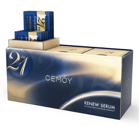 CEMOY 21 Day Renew Serum Pack with 21 Sackets