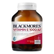 Blackmores Natural Vitamin E 1000IU 100 Capsules