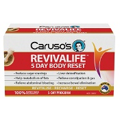 Carusos Revivalife 5 Day Reset Kit