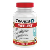 Carusos Wee Less 60 Tablets
