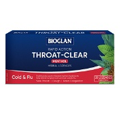 Bioglan Throat-Clear Menthol Flavour 20 Lozenges