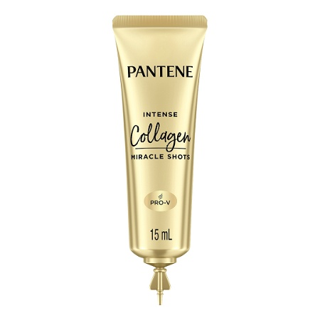 Pantene Intense Hair Treatment Shots Collagen Repair for Damaged Hair 3 x 15ml