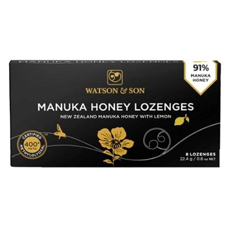Watson & Son 400+ Manuka Honey Lozenges 8 Pack