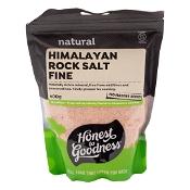 Honest to Goodness Himalayan Rock Salt Fine 600g