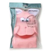 Basic Care Bath Mitt Rabbit Single
