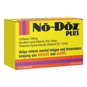 No-Doz Plus 24 Tablets