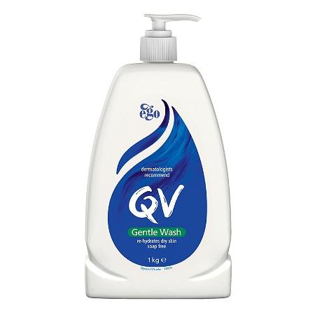 Ego QV Gentle Wash Soap Free 1kg