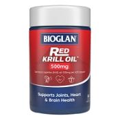 Bioglan Red Krill Oil 500mg 60 Capsules