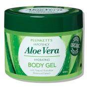 Plunketts Hi-Potency Aloe Vera Hydrating Body Gel 400ml