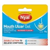 Nyal Mouth Ulcer Gel Raspberry 10g