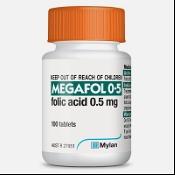 Megafol 0.5mg 100 Tablets