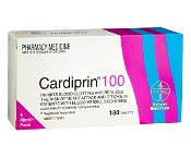 Cardiprin Tablets 100mg 180 Pack