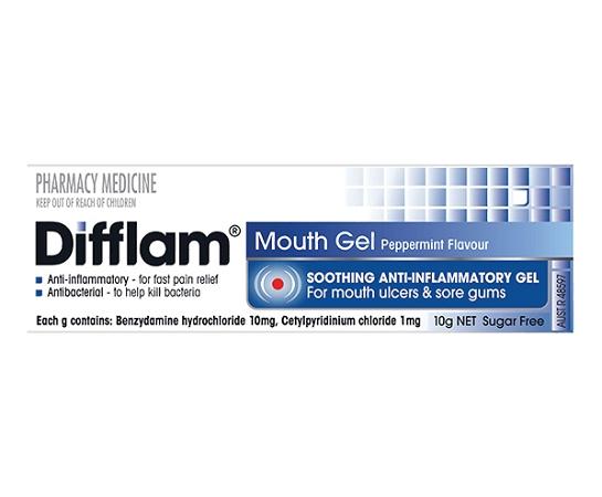 Difflam Anti-Inflammatory Mouth Gel 10g
