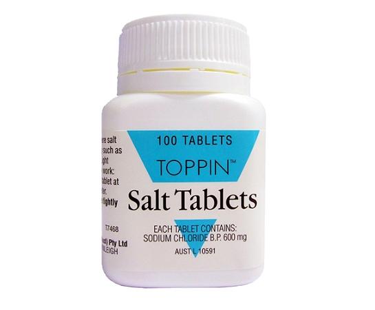 Toppin Salt Tablets 600mg 100 Tablets