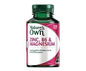 Natures Own Zinc, B6 & Magnesium 200 Tablets
